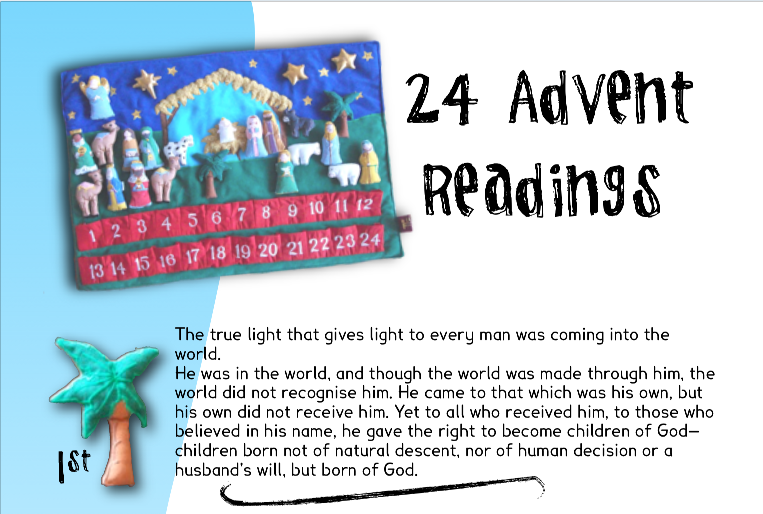 24 Advent Readings